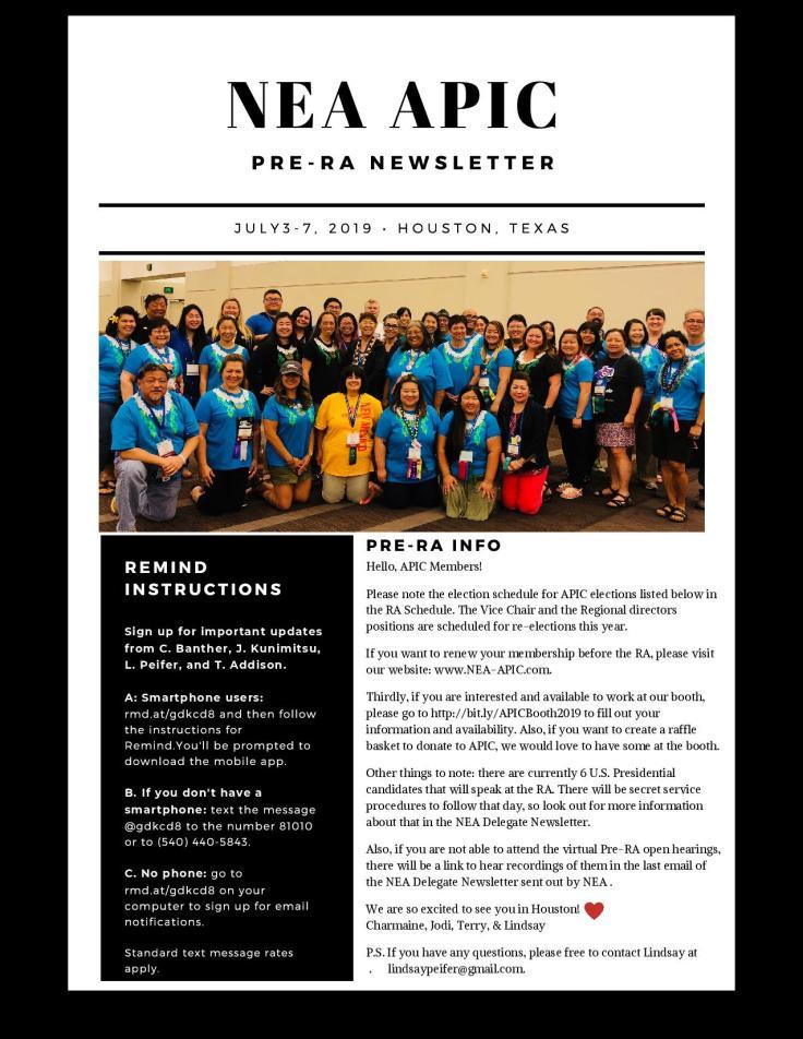 NEA APIC PRE-RA Newsletter-page-001